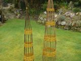 Willow obelisks