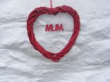 Willow Mother's Day heart