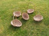 Willow Bridesmaids flower baskets