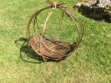 Willow Zarzo hanging basket 1