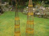 Willow obelisks