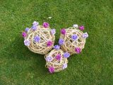 Willow Floral Spheres