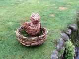 Willow Easter nest